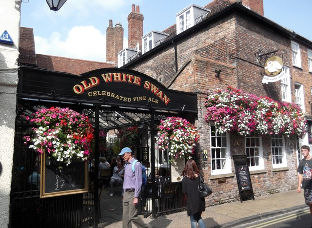 Old White Swan, Goodramgate, York