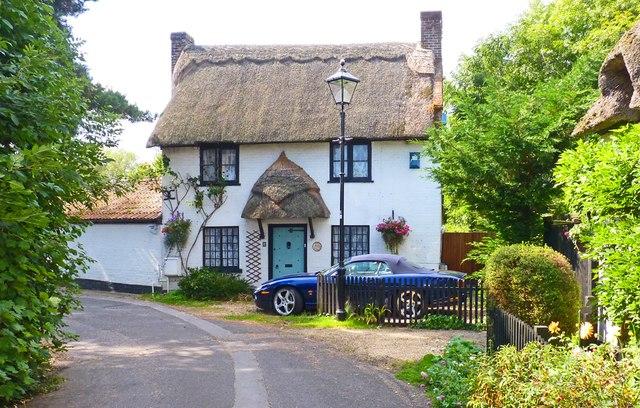 Brook Cottage on Coxstone Lane, Ringwood