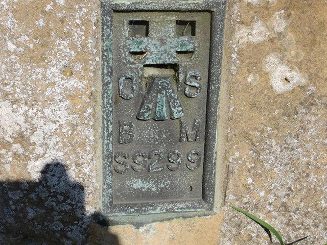 Ordnance Survey Flush Bracket S9299