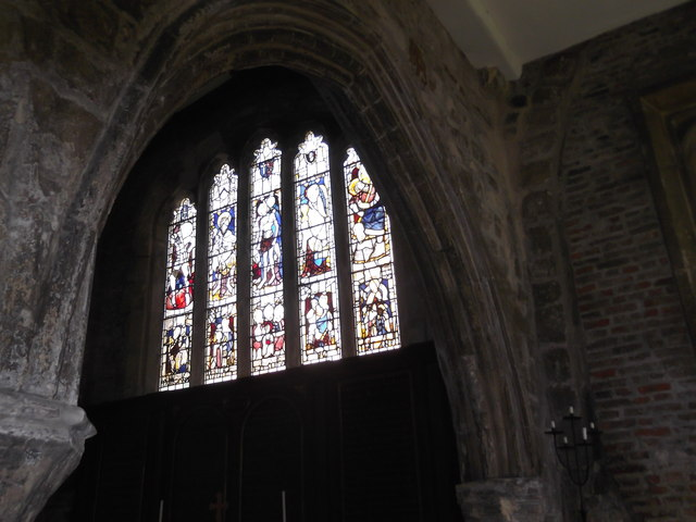 Stained glass, Holy Trinity, Goodramgate, York
