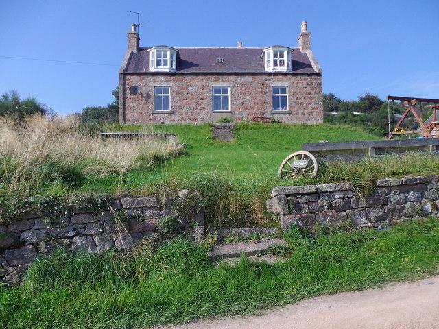 Balfiddy farmhouse (2014)