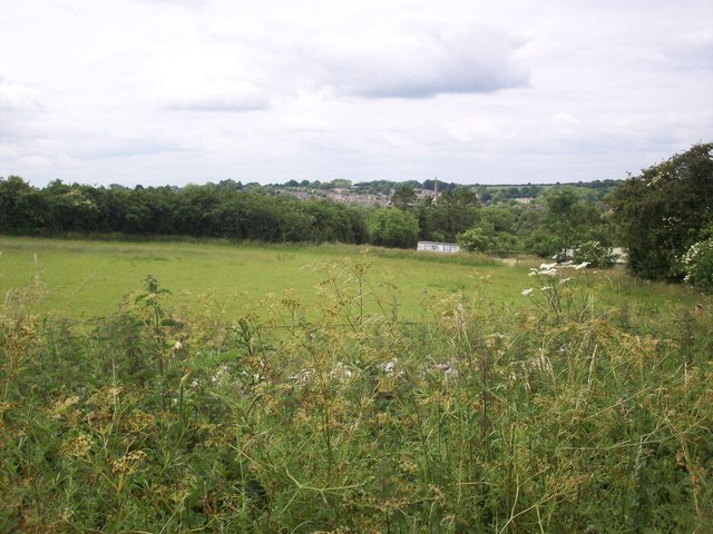 A farm and Burford, at the bottom