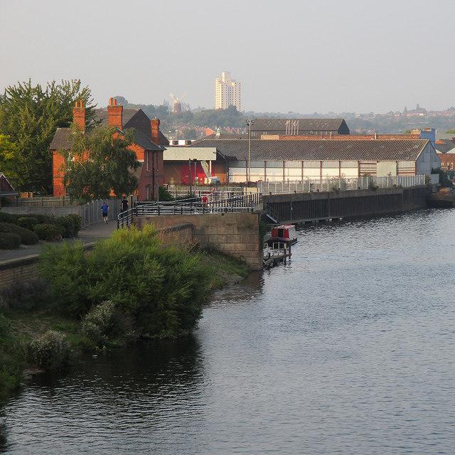 Trent Bridge to Sneinton