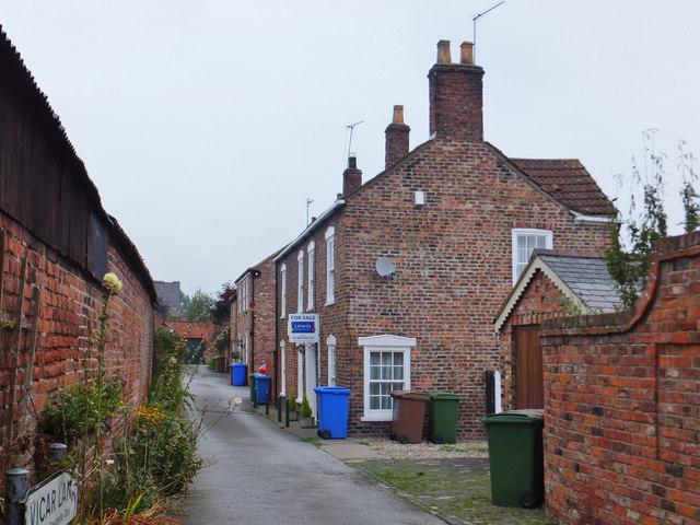 Vicar Lane, Hedon, Yorkshire