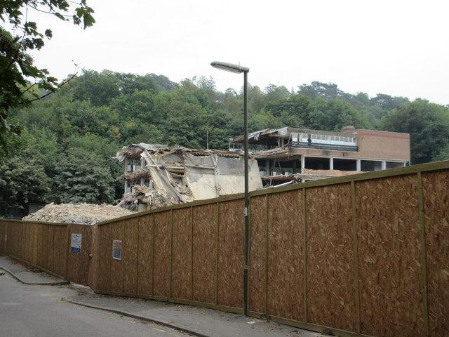 Demolishment on Well Farm Road