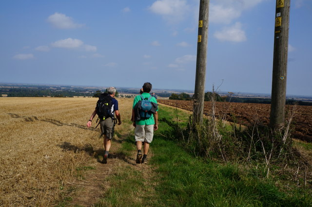 Bridleway towards Beesby Farm
