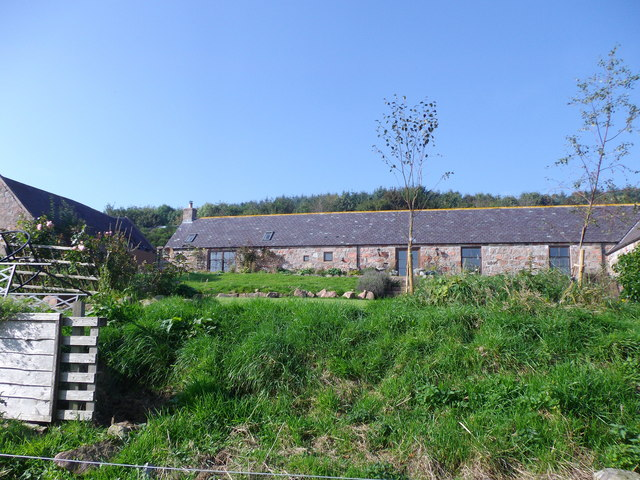 Redeveloped steading at Balfiddy