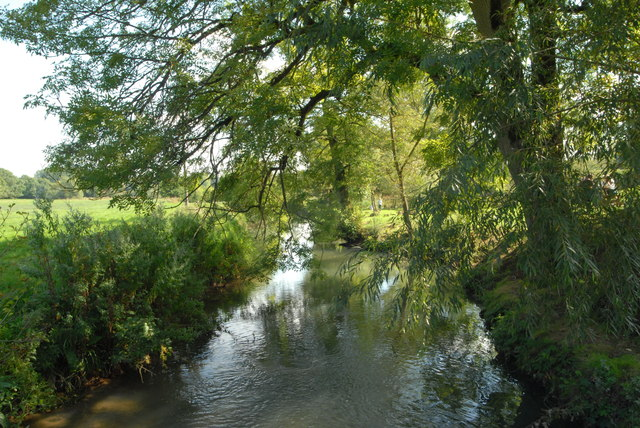 River Windrush at Barrington