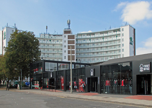 Nottingham Forest shop and ticket office