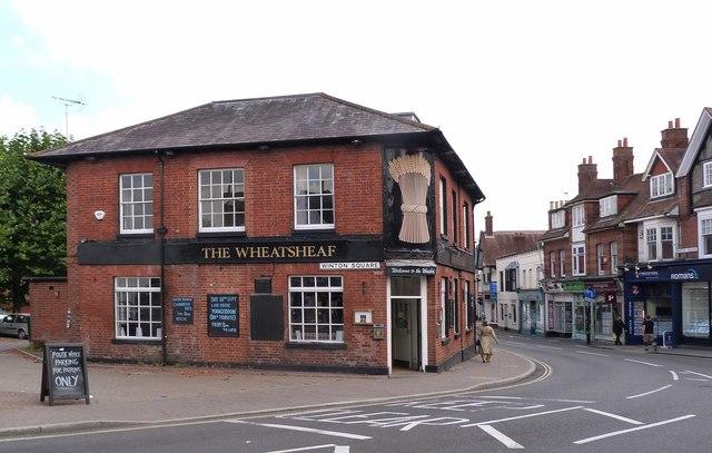 """""""The Wheatsheaf"""" public house, Basingstoke"""