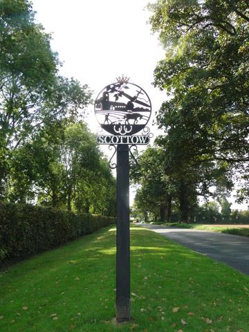 Scottow Village sign