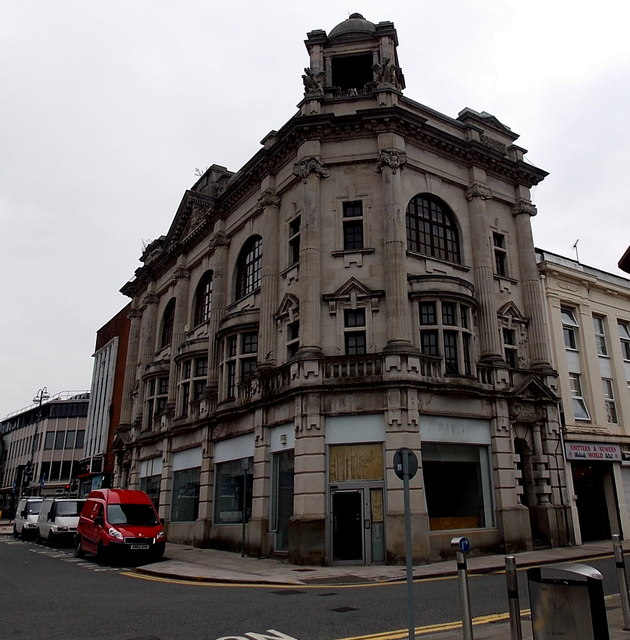 Former Barclays Bank branch in Swansea