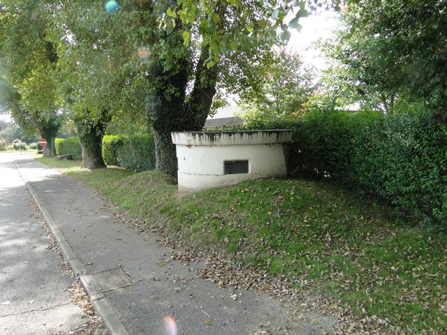 Yarnold Shelter pillbox at the RAF Coltishall main gate
