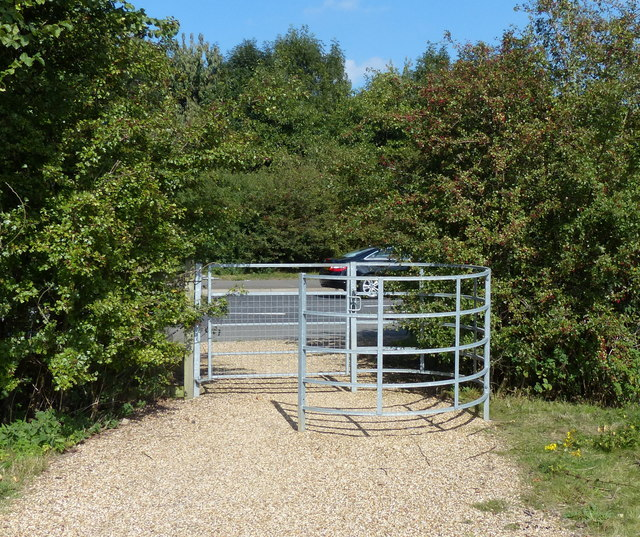 Kissing gate on the Fosse Way