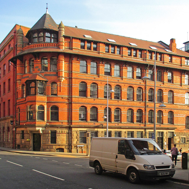 A Watson Fothergill lace warehouse