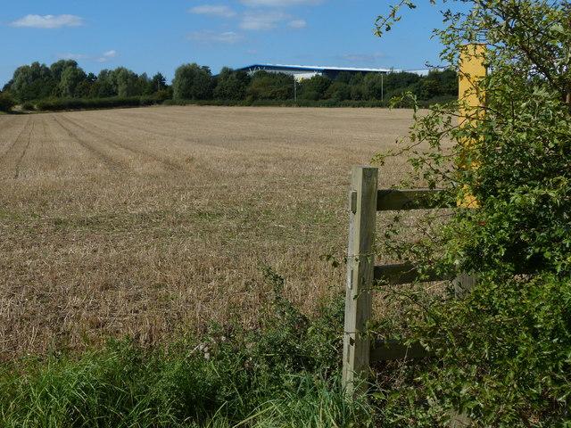 Farmland near Leicester Lane