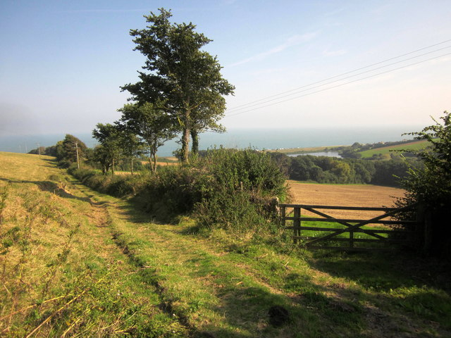 Gateway above Widdicombe valley