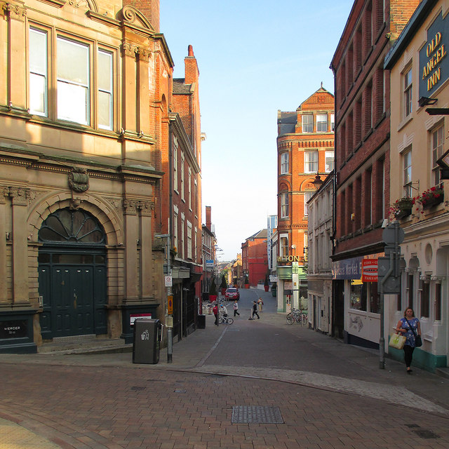 A September morning in The Lace Market