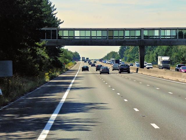 Bridge at Fleet Services, Westbound M3