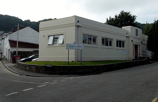 Oystermouth Branch Library, Swansea