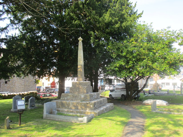 Churchyard Cross, Mark