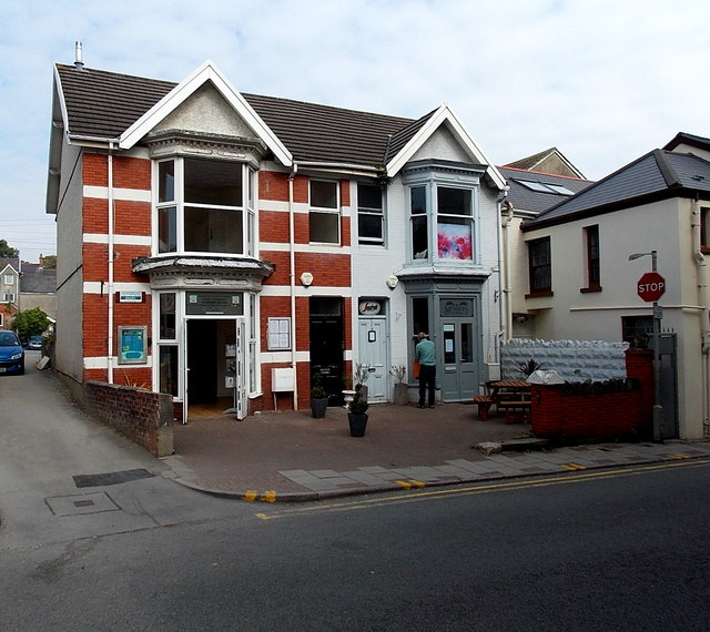 Oystermouth Radio Station in Mumbles, Swansea