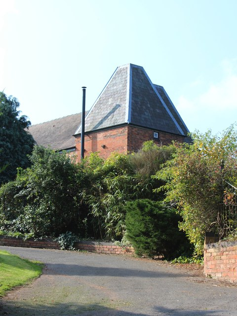 Oast House at Greathouse Farm, Leigh