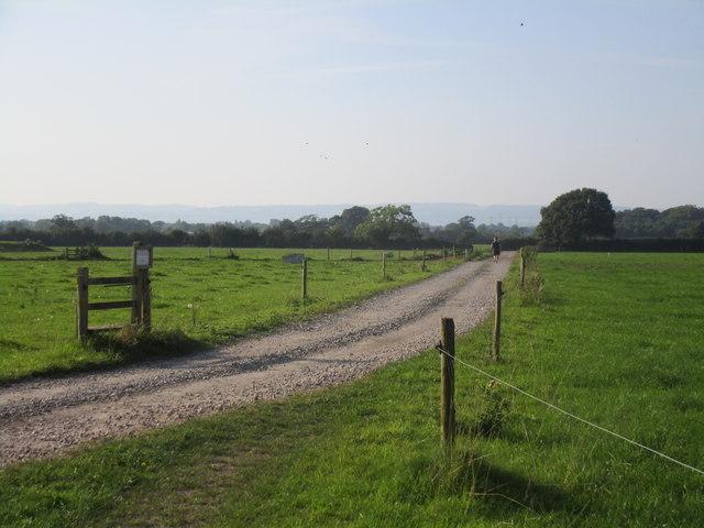 Footpath to Park Mill Farm