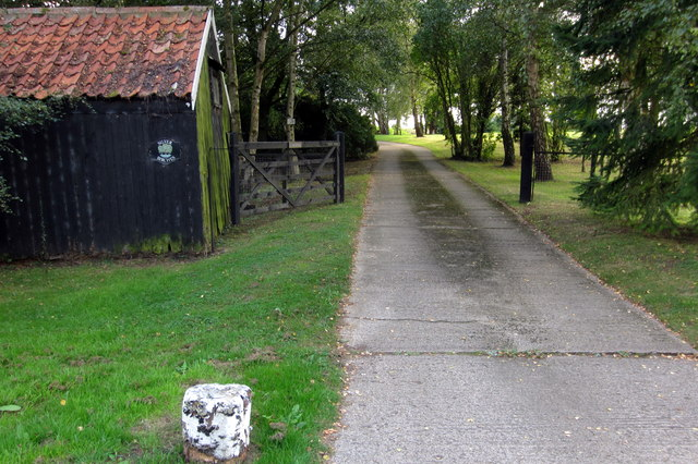 Entrance to The Birches