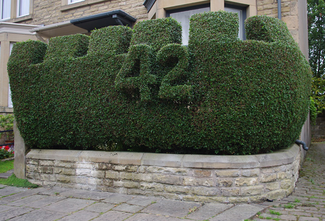 Topiary on Blades Street