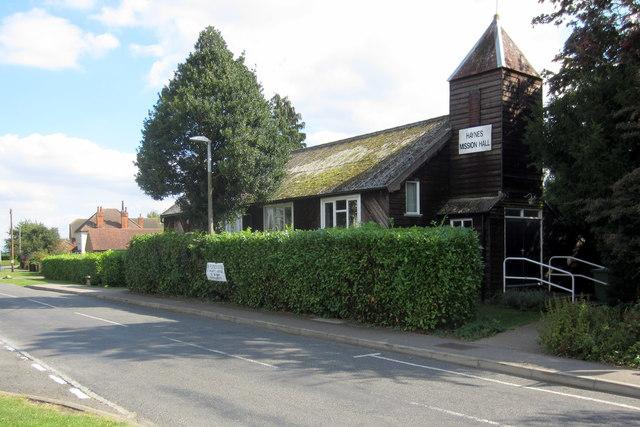 Haynes Mission Hall