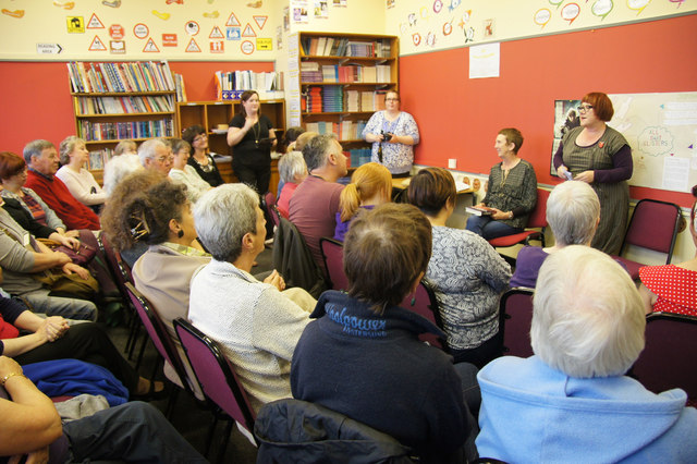 Book launch at Baltasound Junior High School