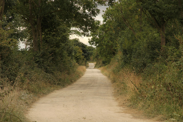 Former Midland & Great Northern Railway trackbed