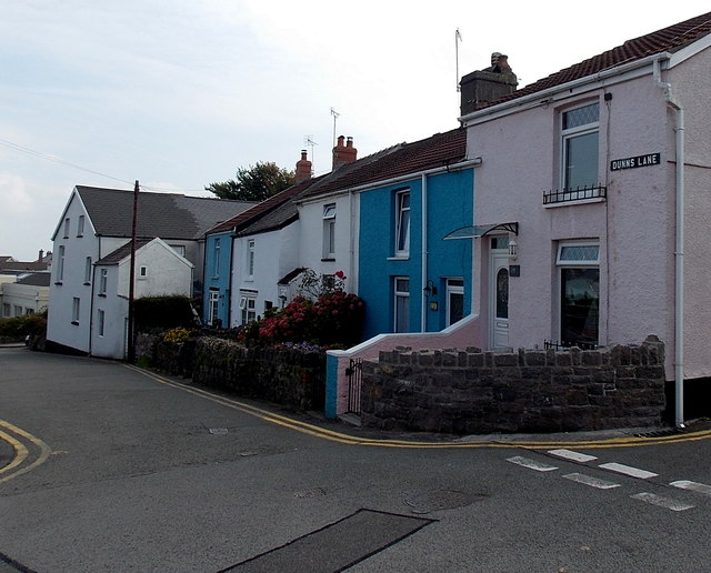Dunns Lane houses, Mumbles, Swansea