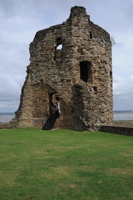 Tower at Flint Castle