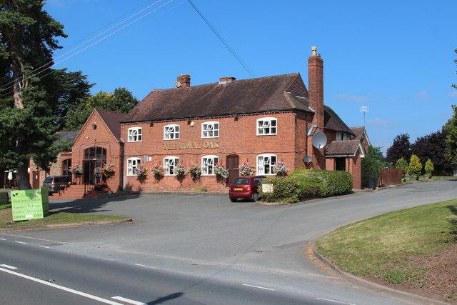 The Royal Oak, Broadwas