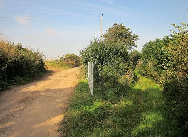 Byway and track, Mattiscombe Cross