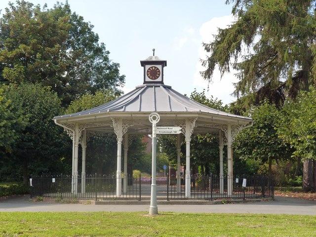 Bandstand, War Memorial Gardens, Basingstoke