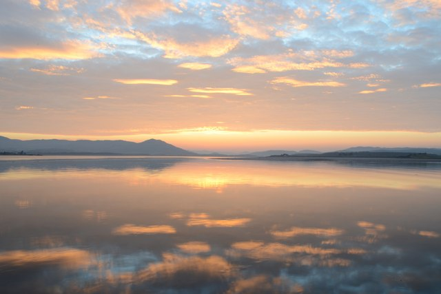 The Dornoch Firth just after Sunset