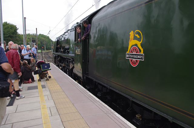 Steam at Lancaster station