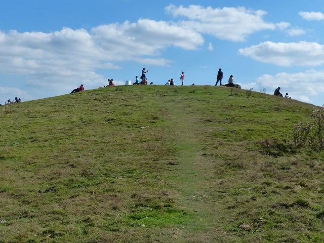 The summit of Croft Hill