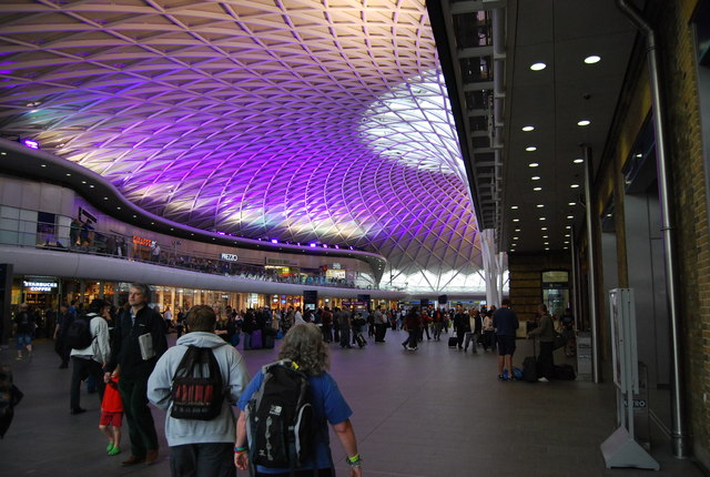 Colours on the New Kings Cross Roof