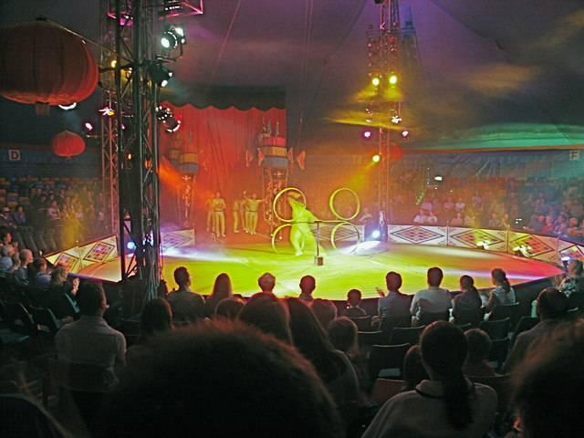 At the Chinese Circus