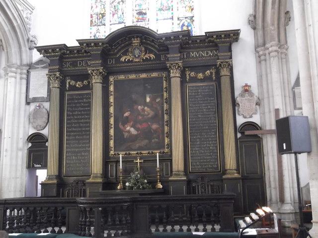 Altar, St Michael-le-Belfrey Church, High Petergate, York