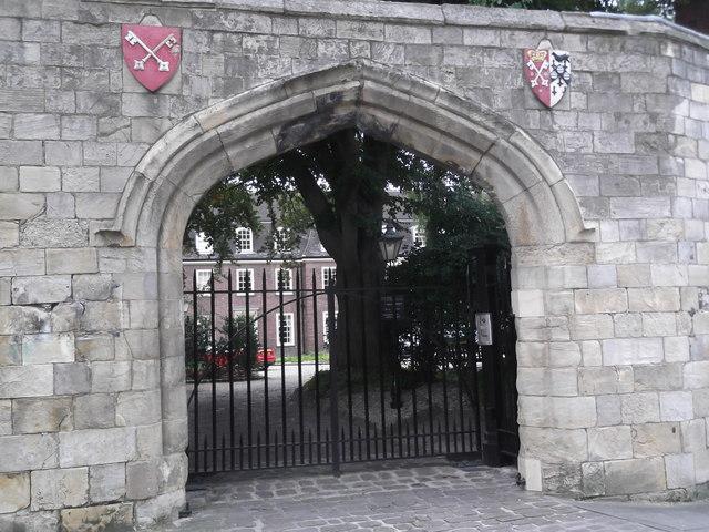 Gateway, Minster Yard, York