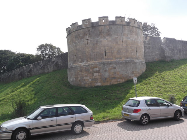City wall, Lord Mayor's Walk, York