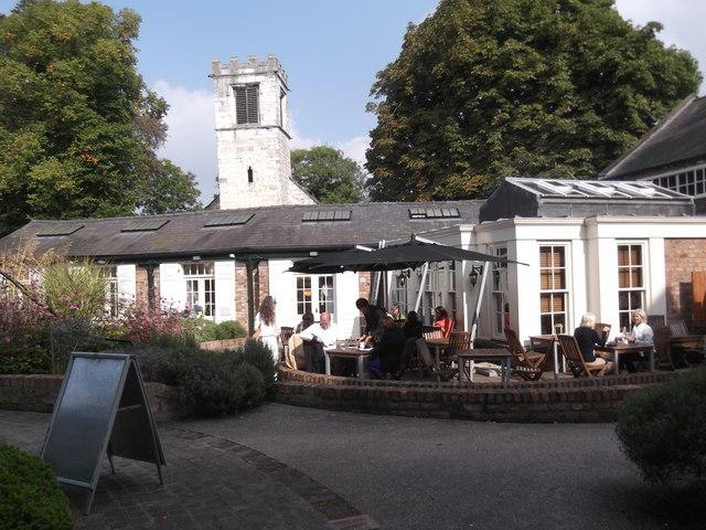 St Cuthbert's Café, Peasholme Green, York