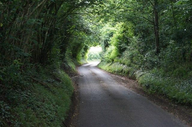 Waltham Lane - direction Overton