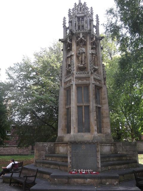 Boer War Memorial, Duncombe Place, York