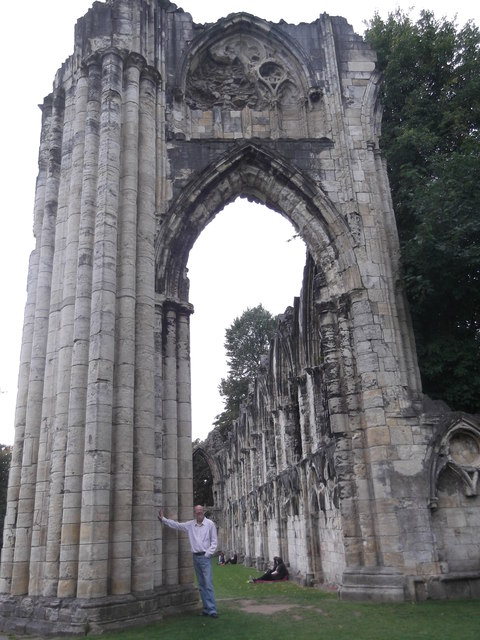 Arch, St Mary's Abbey, Museum Gardens, Yotk